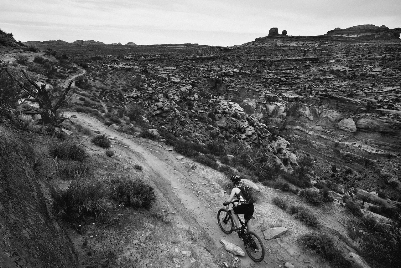 The last portion of the trail is all singletrack, and oh-so-good!